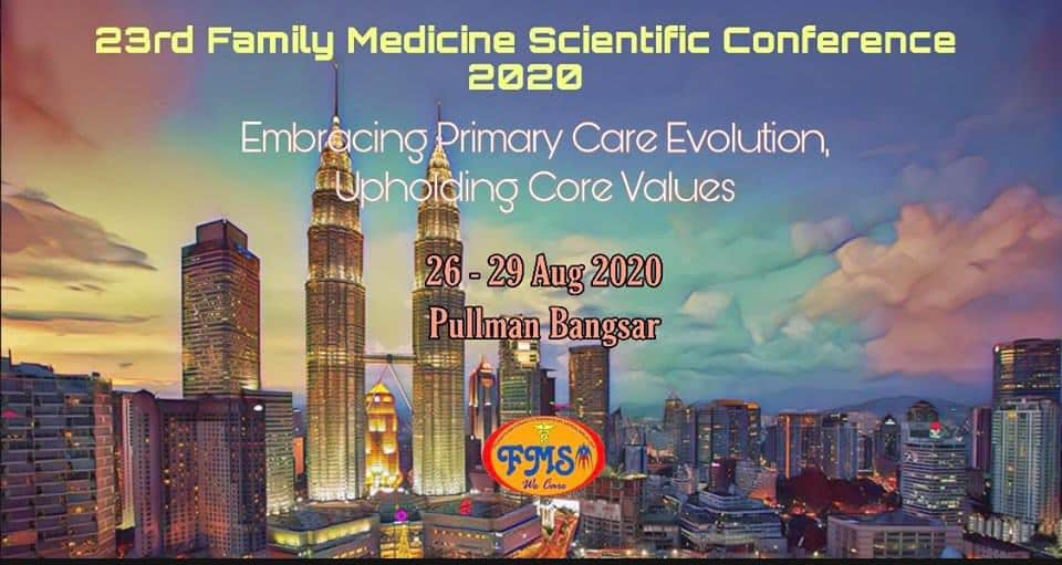 FMSA 23rd Scientific Conference at Pullman Hotel, Bangsar KL